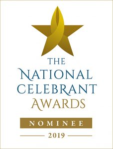 Nominee for the National Celebrant Awards