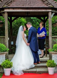 Renewal of vows, with Helen Waters of Fondest Love